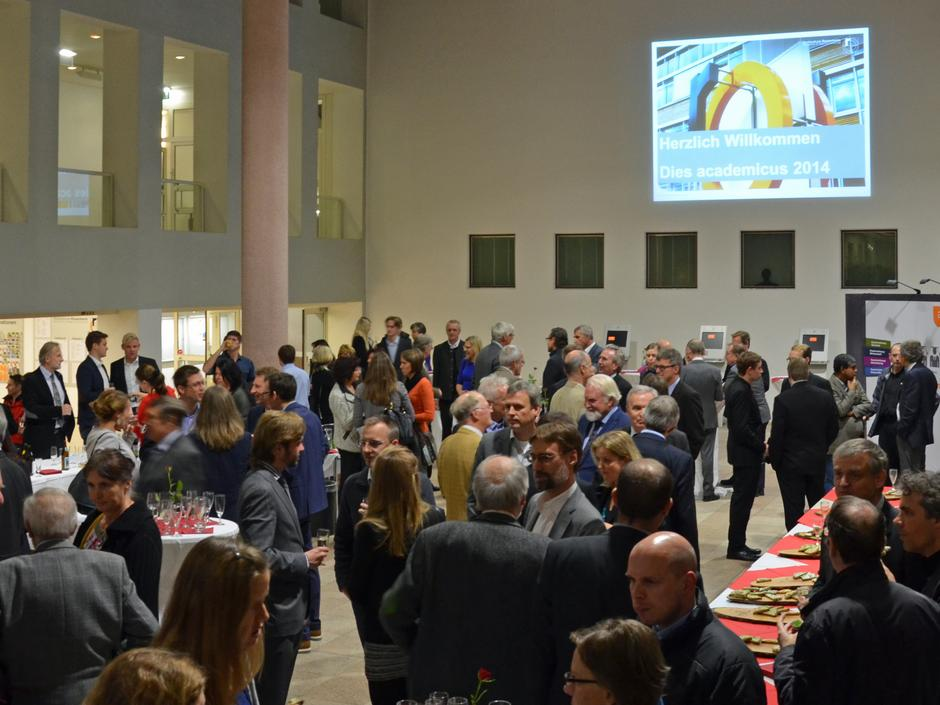 Dies academicus 2014 - Empfang